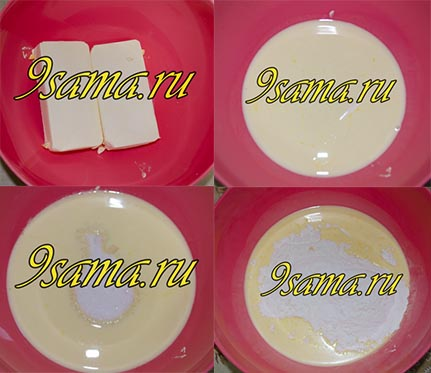 Домашние орешки со сгущенкой +2 вида начинки
