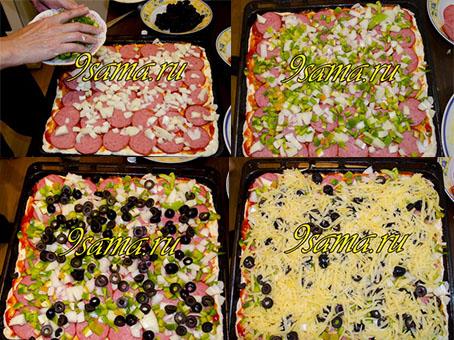 Домашняя пицца на кефире