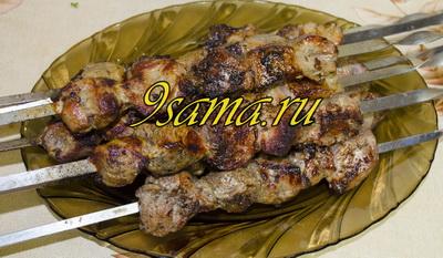 Маринад вкусного шашлыка из свинины