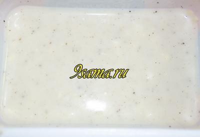 Котлеты под сырным соусом