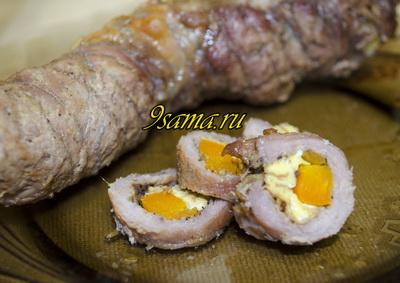 Колбаса из свинины в домашних условиях