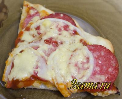 Простой рецепт пиццы в домашних условиях