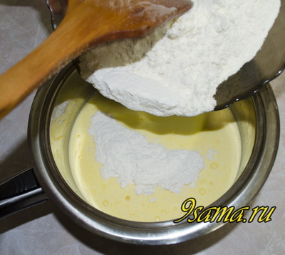 Торт из заварного теста Дамские пальчики