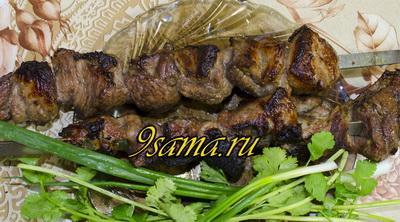 Рецепт сочного шашлыка из баранины