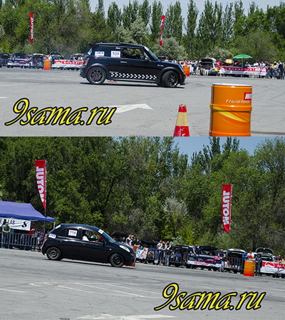 Мы на авто соревновании Автослалом 2016