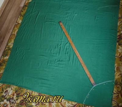 Как сшить длинную юбку без выкройки