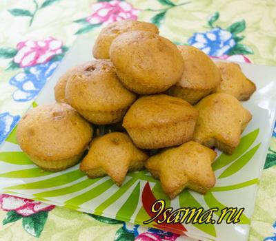 Простой рецепт кексов (маффинов) в формочках