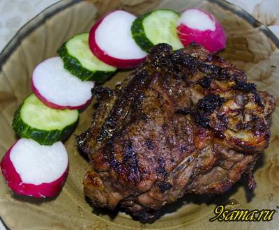 Как вкусно приготовить стейки из баранины?