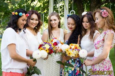 Международный флэшмоб женственности 1 августа 2016 года