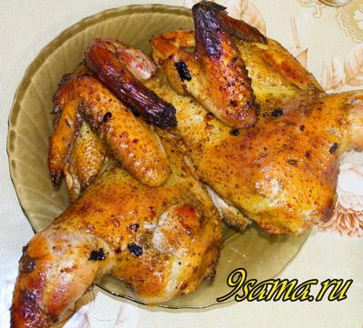 Чесночно-медовый соус для курицы