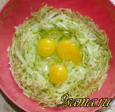 Оладьи из кабачков: пошаговый рецепт с фото