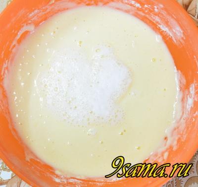 Рецепт пышных панкейков на кефире