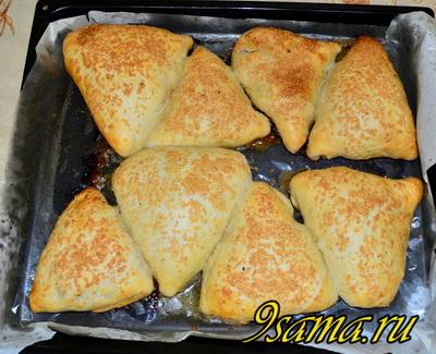 Рецепт слоеной самсы с курицей