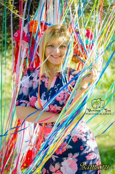 Летняя фотозона «Эдемовые сны»: Разноцветные ленты