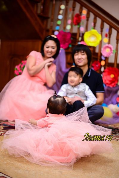 Особенности семейной фотосессии с годовалым ребенком