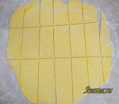 Рецепт хвороста из картофельного пюре