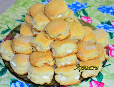 Вкусное печенье на сметане без яиц