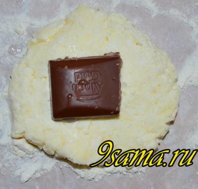 Рецепт сырников с шоколадной начинкой