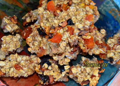 Печенье из геркулеса без муки и яиц