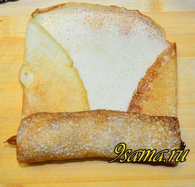 Рецепт блинов с мясом и картошкой с пошаговым фото