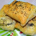 Рецепт слоек с курицей и сыром
