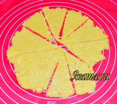Рецепт хрустящего сырного печенья