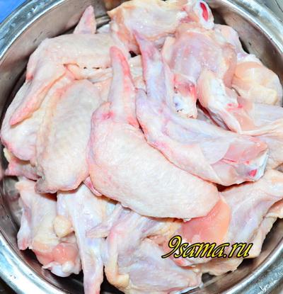 Куриные крылья в хрустящем кляре