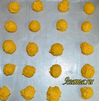 Простой рецепт морковного печенья без яиц