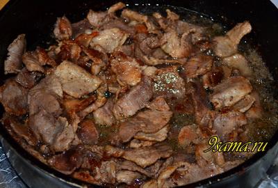 Домашняя шаурма с мясом