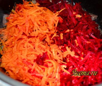 Рецепт домашнего густого борща