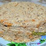 Вкусный домашний торт со сгущенкой на сковороде