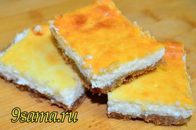 Очень простой рецепт творожного чизкейка без выпечки