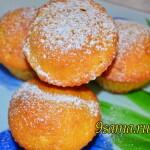 Апельсиновые маффины «Золотое руно»