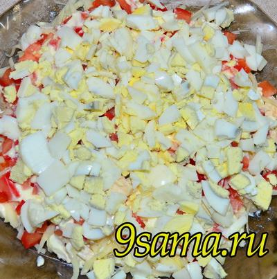 Салат с киви Изумрудная россыпь